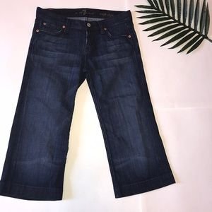 7 For All Mankind Jeans - 7FAMK Crop Jeans (Re-Posh)